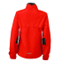Ladies Running Jacket tomato/black Rückseite