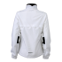 Ladies Running Jacket weiß/schwarz Rückseite