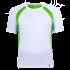 Laufshirt Marathoni Men weiß/limegrün