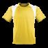 Kinder Marathon Shirt gelb/weiß