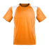 Kinder Marathon Shirt orange/weiß