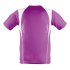 Kinder Marathon Shirt purple/weiß