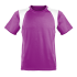 Marathon Shirt Herren lila/weiss
