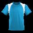 Marathon Shirt Herren türkis/weiss
