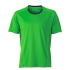 Running Shirt green/irongrey