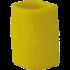 Sport Schweißband gelb