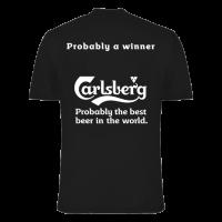 Carlsberg t-shirt firmenlauf