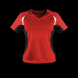 Damen Laufshirt Contrast bunt