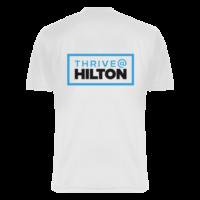 Firmen Laufshirt Hilton bedruckt