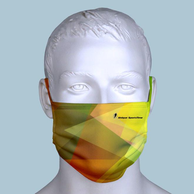 Maske im Firmendesign voll-individuell