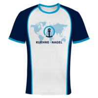Firmen Shirt mit Logo Kühne & Nagel