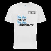 Firmenlauf Shirt Hilton bedruckt