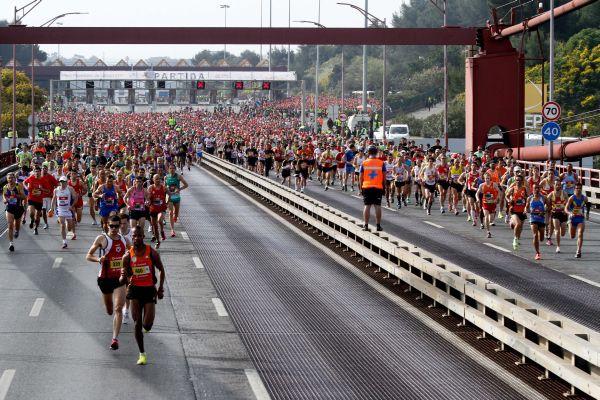 Halbmarathon Lissabon 2012