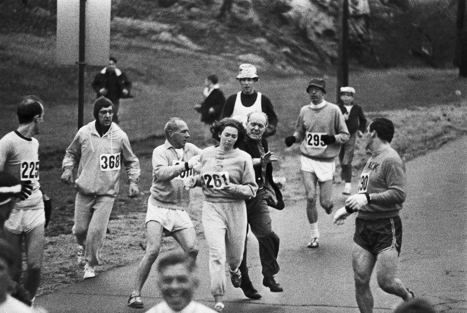 Katherine Switzer Boston Marathon 1967