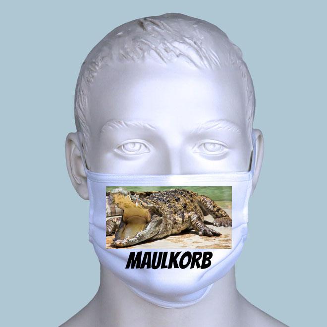 Maulkorb Maske gestalten
