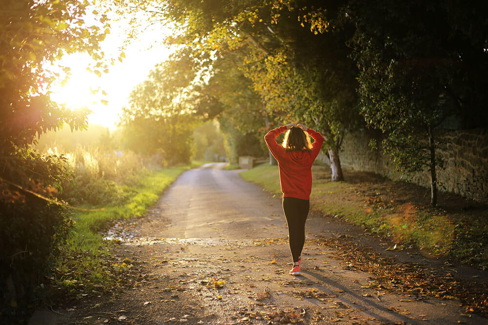 Laufen für die fettverbrennung