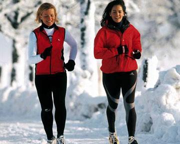 jacke laufen winter damen