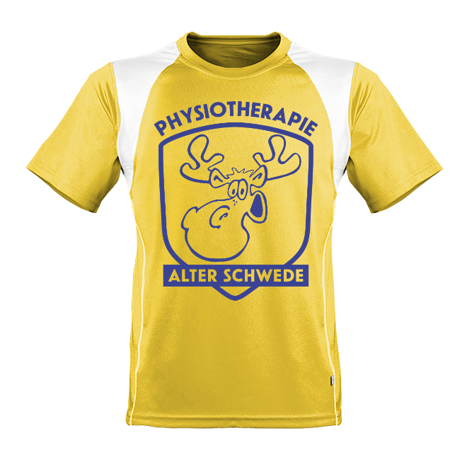 Laufshirts Physiotherapie Alter Schwede