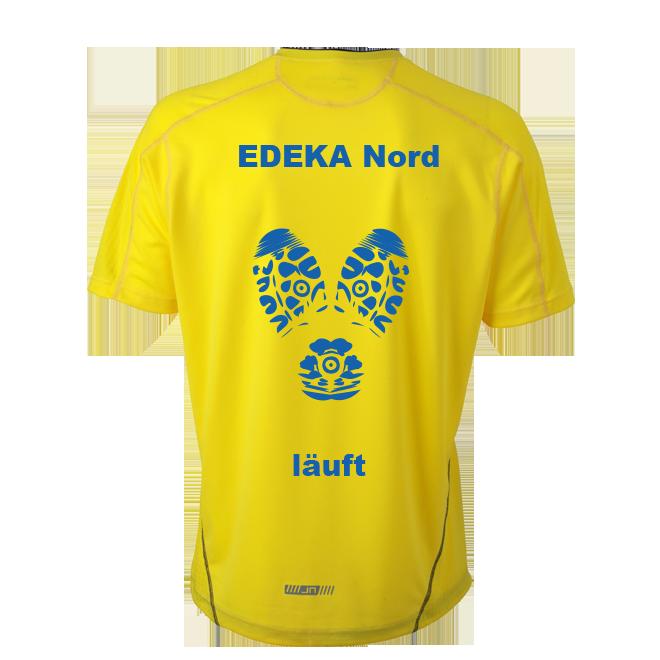 Laufshirts bedrucken für Edeka Nord