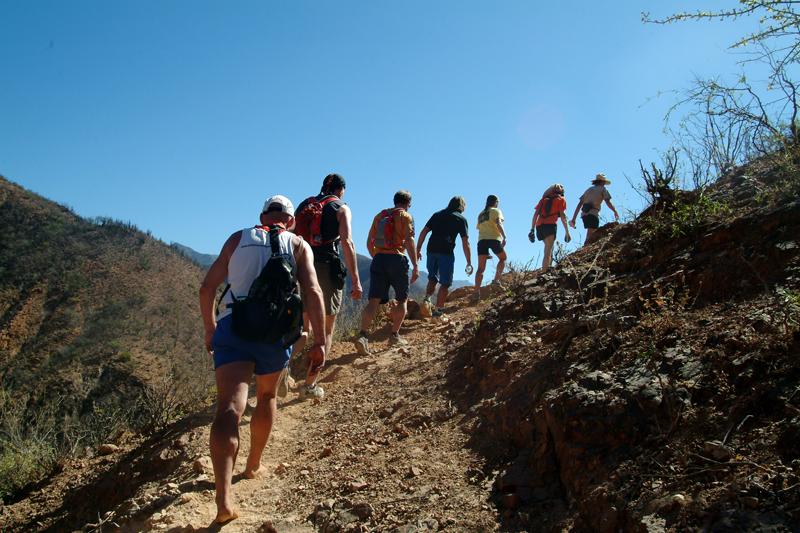 Los mas locos in den Copper Canyons