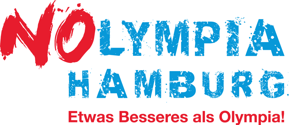 Nolympia-logo-gegen Olympia 2024 in Hamburg