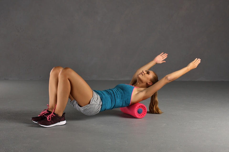 Relax Roll Übung Obere Rückenmuskulatur