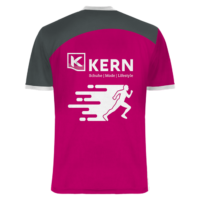 Shirt All-Over-Print Kern-Sport hinten