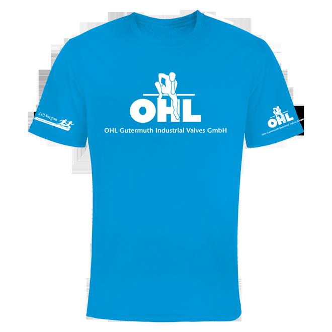 Voll Sublimation Firmenlaufshirt für OHL