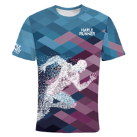 Sportshirt mit Läufer Logo