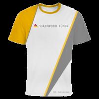 T-Shirt vollflächig befdruckt Stadtwerke Lünen
