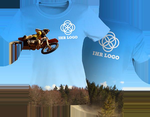 Das Vollsublimation Shirt - Eigenes Design schon ab 10 Stück!